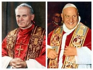 Kanonizowani Jan Paweł II i Jan XXIII