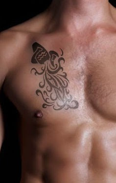 chest tattoos for men