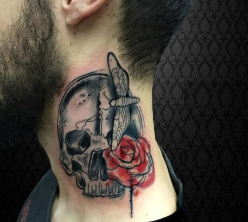 Pretty Neck Tattoos For Girls: 50 Most Beautiful And Attractive Neck Tattoos For Men And