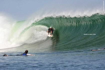 G-Land Surf Report on September 29, 2015