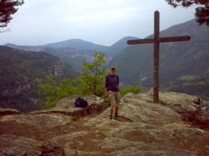 Picnic spot on Le Baou