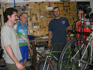 It's not always just dudes but these guys were a good bunch learning about hub bearing overhaul