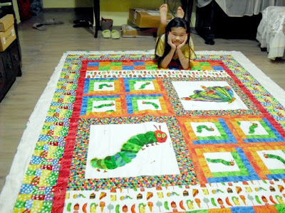 Caterpillar Quilt Top Completed