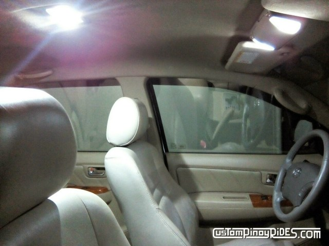 Toyota Fortuner Modified Interior LED Lighting Custom Pinoy Rides Philippines pic1