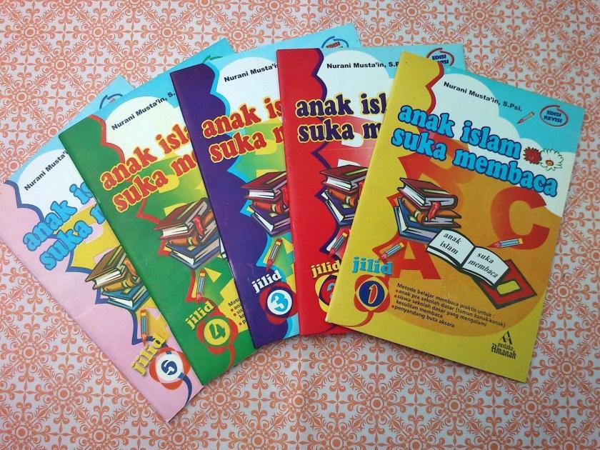 Buku Anak Islam Suka Membaca, Nurani Musta'in, Pustaka Amanah Solo