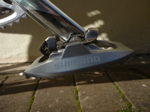shimano a530 pedals are a big improvement on their predecessor the m324. lighter, better looking, better platform