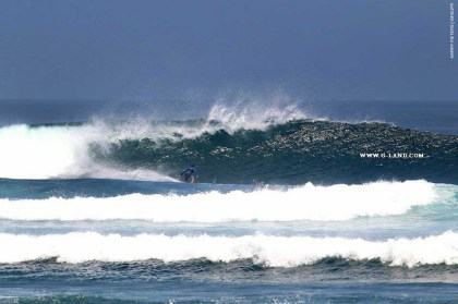 G-Land Surf Report on October 15, 2015