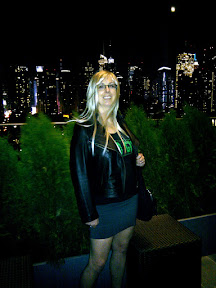 On the rooftop terrace of Ink48.