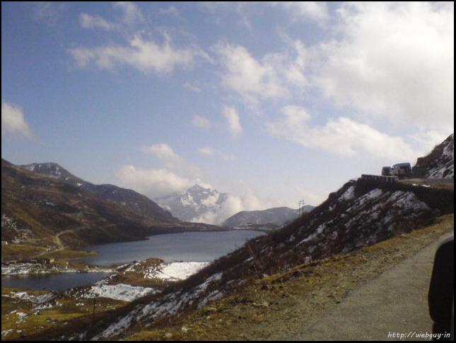 View of the Changu Lake - Gangtok
