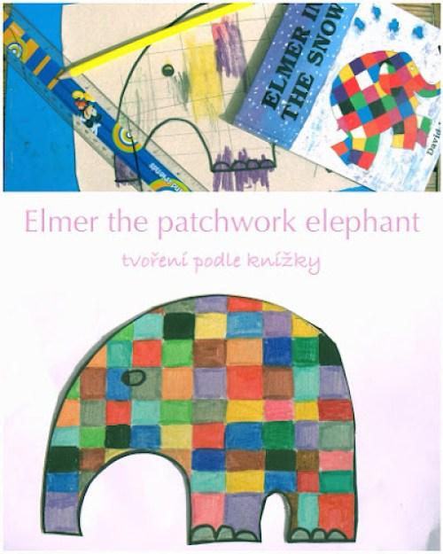 Tvoření pro děti slon