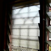 Projek hujung minggu – tukar bingkai cermin tingkap Nako.