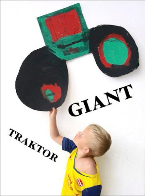 Malování traktor