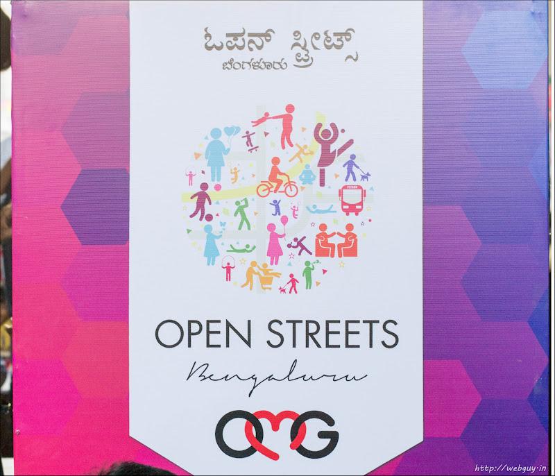 open streets mg road bangalore