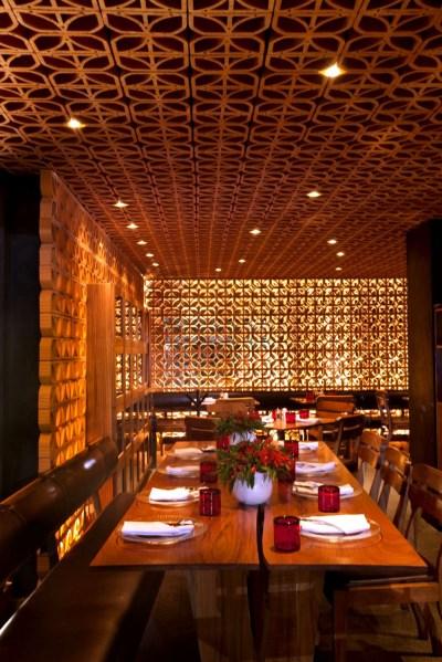 interior design information: Warm Interior Atmosphere Restaurant Design By Cherem Serrano