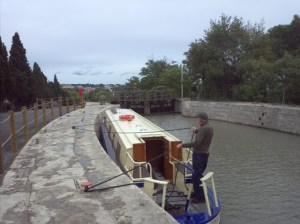 Fonserranes top lock