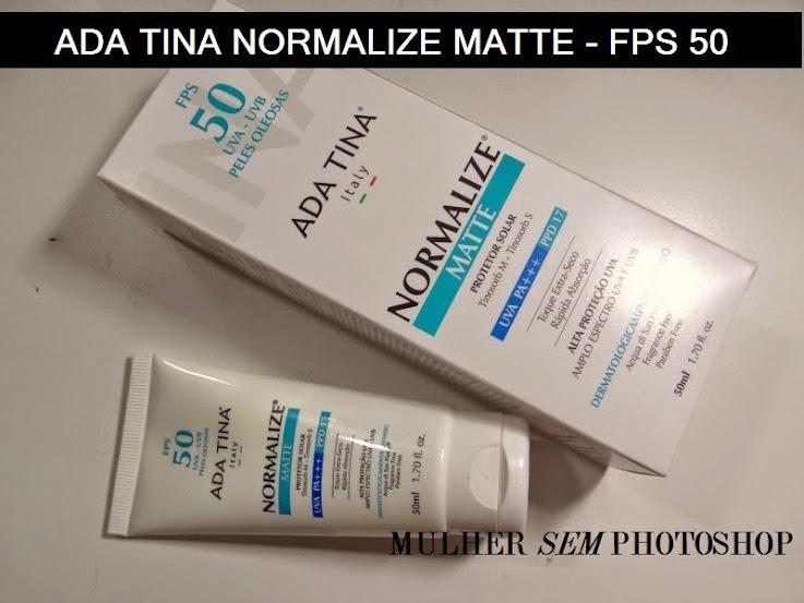 Normalize Matte da ADa Tina - melhor protetor solar 2015 - melhores produtos de beleza