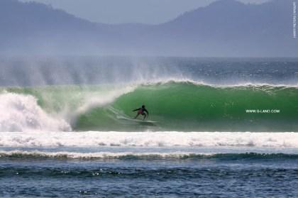 G-Land Surf Report on September 21, 2015