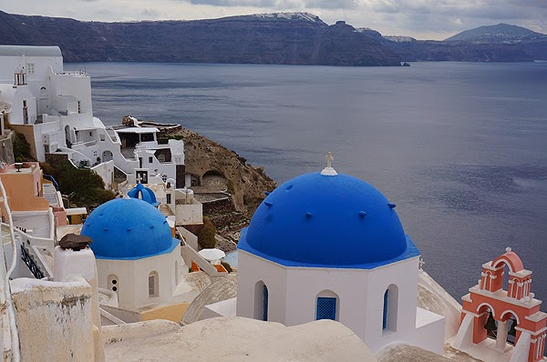 Churches in Santorini, Santorini architecture, greek architecture