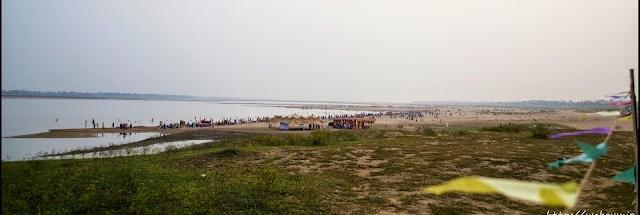 the Sone river chhath puja