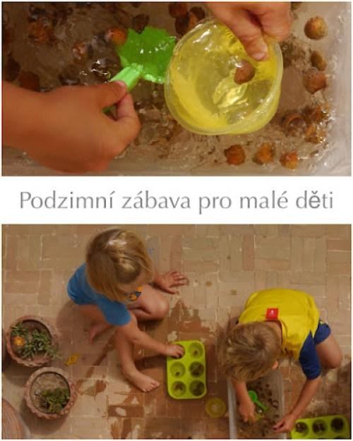 Podzimní sensory play
