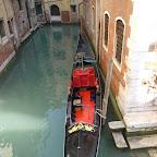 One of many gondolas ready for tourists.