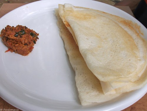 Dosa Recipe (Sada Plain Dosa)