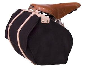 Minnehaha Medium Saddle Bag - Canvas and Leather - $125