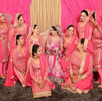 Image result for pretty punjabi girl groups in suits