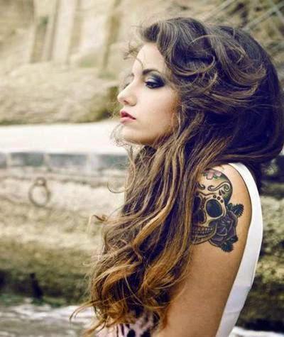 arm tattoo girls