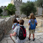 Outside Damascus gate in Jerusalem