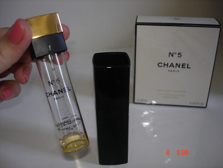 Chanel N5 Eau de Toilette com refil