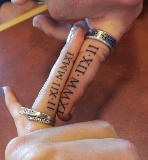 tattoos for fingers