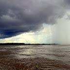 Rain up ahead on the Amazon
