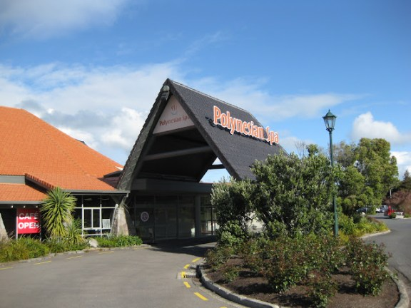 The Polynesian Spa, in Rotorua