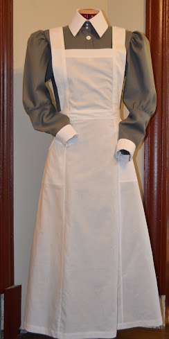 robe /tablier blanc