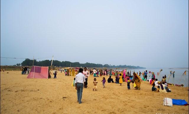 sone river chhath puja