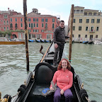 Trish and our gondola capitan.