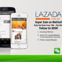 Dapat harga murah setiap hari Lazada Malaysia di WeChat