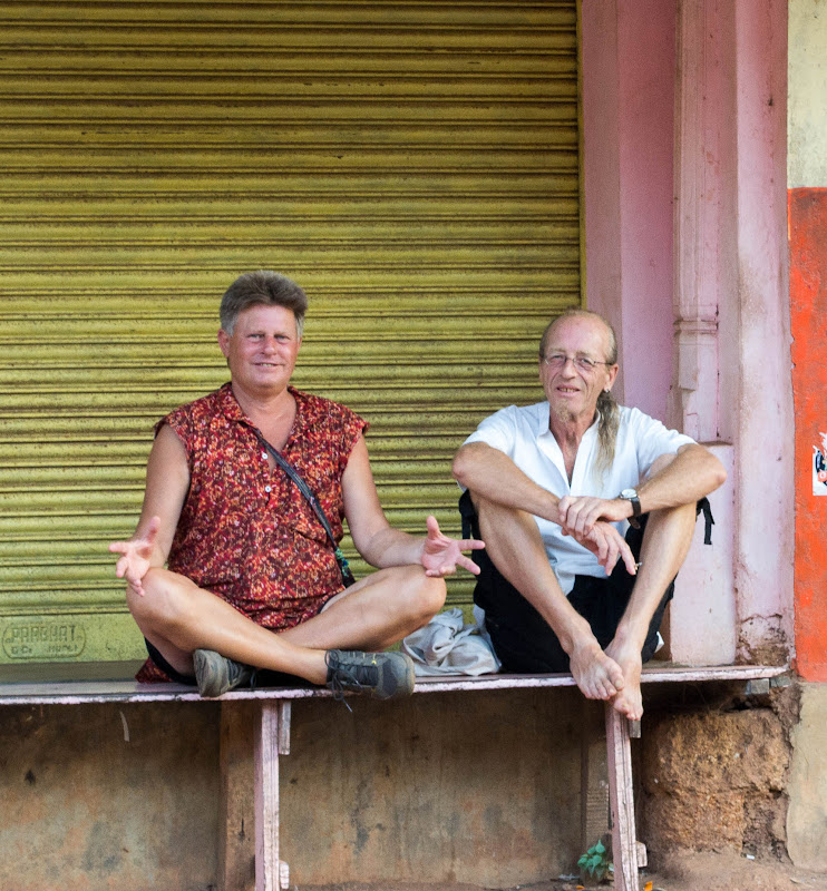 foreigners in gokarna