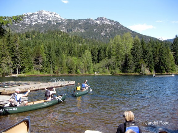 Whistler Eco Tours on Alta Lake
