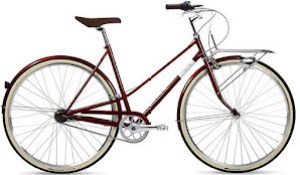 Creme Cafe Race Mixte 3spd, Classic Cycling Style - $1200
