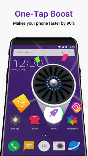 APUS Launcher Pro- Theme, Live Wallpapers, Smart Mod Apk Unlimited Android - apkmodfree.com