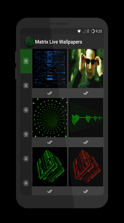 Matrix Live Wallpapers - Android Apps on Google Play