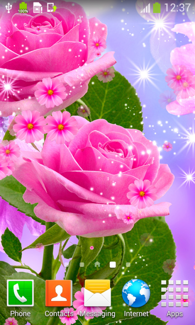 Glow Flower Live Wallpapers - Android Apps on Google Play