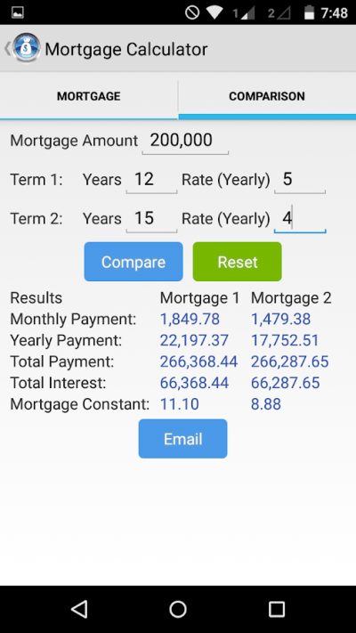 Mortgage Repayment Calculator - Android Apps on Google Play