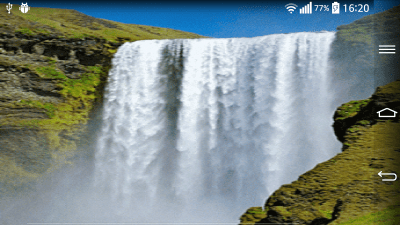 Waterfall Live Wallpaper With - Android Apps on Google Play