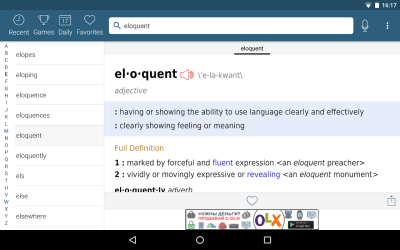 Dictionary - Merriam-Webster - Android Apps on Google Play