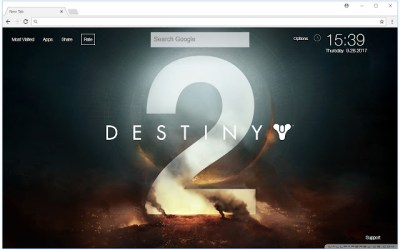 Destiny 2 Wallpapers HD New Tab Themes - Free Addons