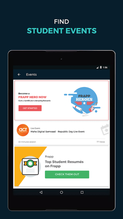 Student Internships & Offers - Android Apps on Google Play