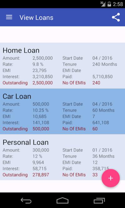 Download Loan Emi Calculator Free